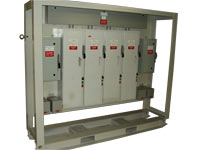 Fan Starter Rack Power Factor Correction Capacitors